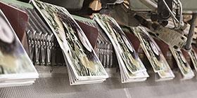 Mitgliederbroschüren und Kataloge drucken und versenden